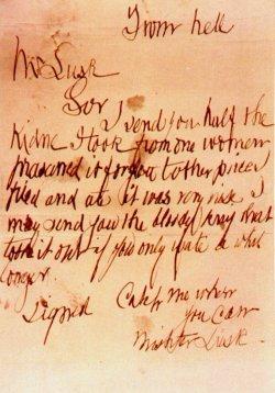 Jack the ripper poem