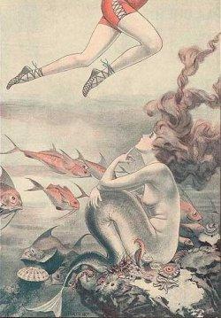 http://en.wikipedia.org/wiki/Image:1921MermaidLegs.jpg