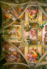 http://en.wikipedia.org/wiki/Image:Sistine.left.600pix.jpg
