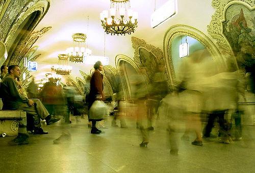 http://commons.wikimedia.org/wiki/Image:Moscow_Metro,_Kievskaya_station.jpg