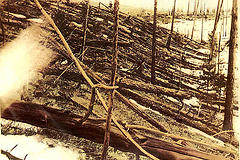 http://commons.wikimedia.org/wiki/File:Tunguska_event_fallen_trees.jpg