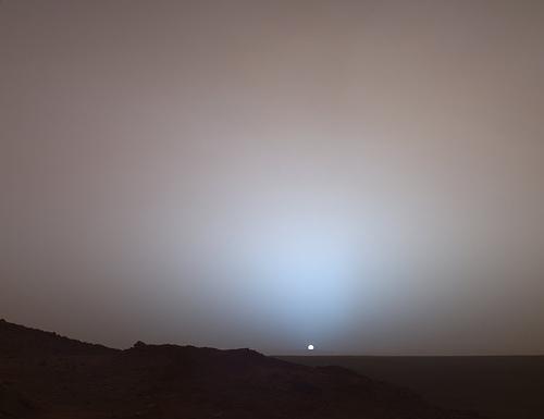 http://commons.wikimedia.org/wiki/File:MarsSunset.jpg