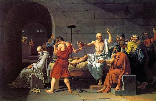 http://commons.wikimedia.org/wiki/File:David_-_The_Death_of_Socrates.jpg