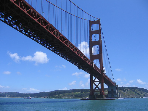 Golden Gate Bridge - Suicide Point