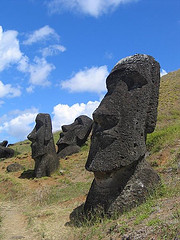 http://commons.wikimedia.org/wiki/Image:Moai_Rano_raraku.jpg