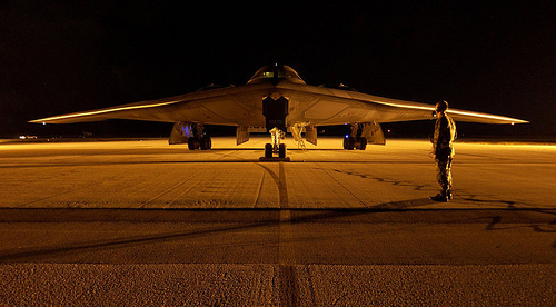 http://en.wikipedia.org/wiki/Image:B-2_Spirit_Night_2.JPG