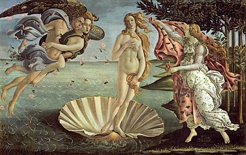 http://commons.wikimedia.org/wiki/File:Birth_of_Venus.jpg