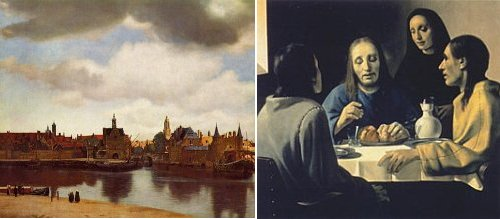 http://en.wikipedia.org/wiki/Image:SupperatEmmaus-Meegeren.jpg