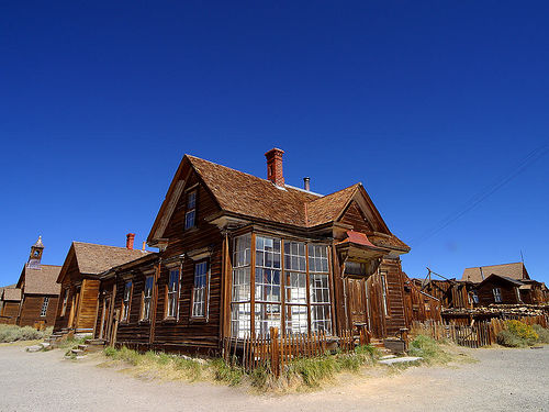http://commons.wikimedia.org/wiki/File:Bodie_ghost_town.jpg