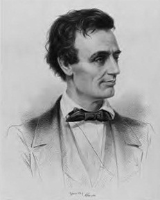 http://commons.wikimedia.org/wiki/File:Abe_Lincoln_young.jpg