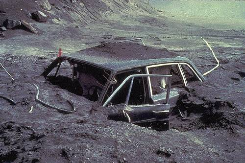 http://commons.wikimedia.org/wiki/File:Reid_Blackburn%27s_car_after_May_18,_1980_St._Helens_eruption.jpg