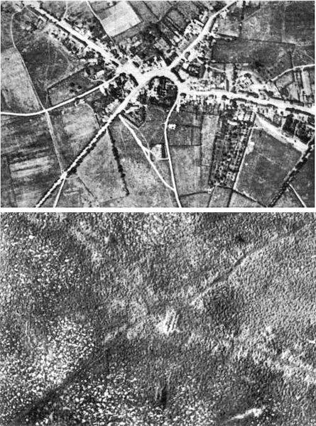 http://commons.wikimedia.org/wiki/File:Passchendaele_aerial_view.jpg