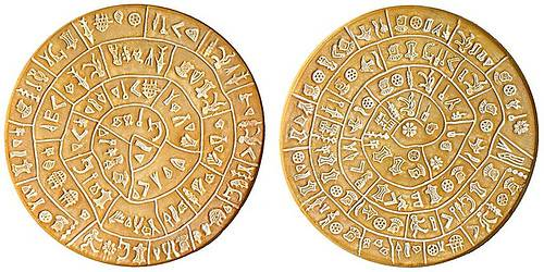 http://commons.wikimedia.org/wiki/File:PhaistosDiskLarge.jpg
