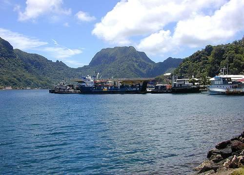 http://commons.wikimedia.org/wiki/File:Fagatogo_Dock.jpg