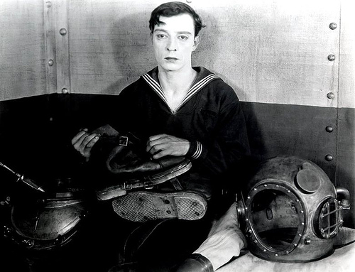 http://commons.wikimedia.org/wiki/Image:Buster_Keaton_in_The_Navigator.jpg