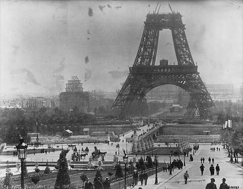 http://commons.wikimedia.org/wiki/File:Tour_Eiffel_1878.jpg