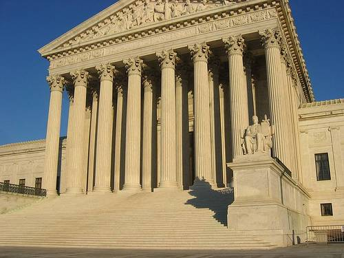 http://commons.wikimedia.org/wiki/File:US_Supreme_Court_Building.jpg