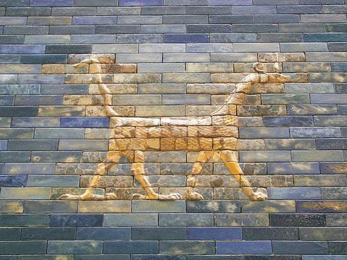 http://commons.wikimedia.org/wiki/Image:Pergamonmuseum_Ishtartor_02.jpg