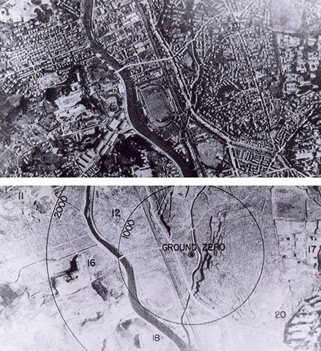 http://commons.wikimedia.org/wiki/Image:Nagasaki_1945_-_Before_and_after_%28adjusted%29.jpg