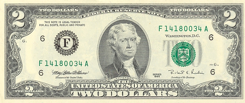http://commons.wikimedia.org/wiki/File:US_$2_obverse.jpg
