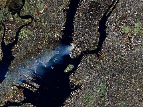 http://commons.wikimedia.org/wiki/File:Manhattan_on_September_12_-_Landsat7.jpg