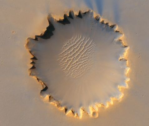 http://commons.wikimedia.org/wiki/File:Victoria_crater_from_HiRise.jpg
