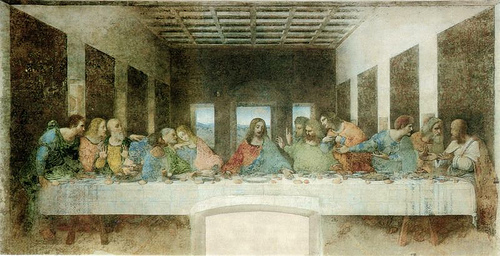http://commons.wikimedia.org/wiki/File:Leonardo_da_Vinci_(1452-1519)_-_The_Last_Supper_(1495-1498).jpg