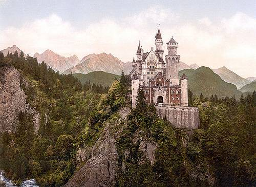 http://commons.wikimedia.org/wiki/File:Neuschwanstein_Castle_LOC_print_rotated.jpg