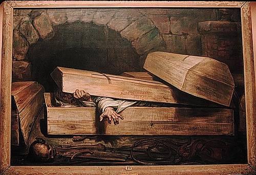 http://commons.wikimedia.org/wiki/File:Wiertz_burial.jpg