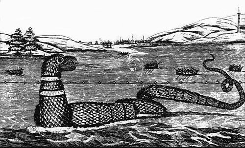 http://commons.wikimedia.org/wiki/Image:1817_Gloucester_sea_serpent.jpg