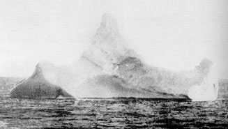 http://commons.wikimedia.org/wiki/File:Titanic_iceberg.jpg