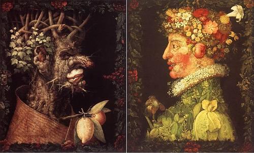http://commons.wikimedia.org/wiki/Image:Giuseppe_Arcimboldo_-_Winter,_1573.jpg