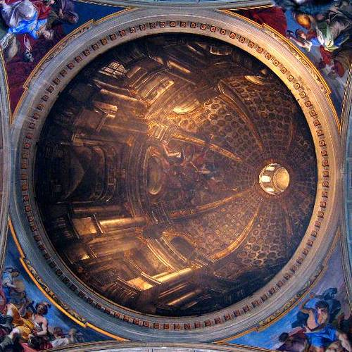 http://commons.wikimedia.org/wiki/Image:Sant%27Ignazio_-_painted_dome_-_antmoose.jpg