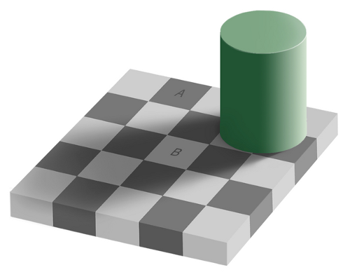 http://commons.wikimedia.org/wiki/File:Same_color_illusion.png