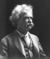 http://commons.wikimedia.org/wiki/Image:MarkTwain.LOC.jpg