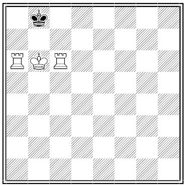 three step dudeney chess problem
