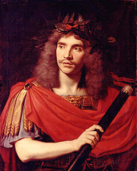 http://commons.wikimedia.org/wiki/File:Moli%C3%A8re_-_Nicolas_Mignard_(1658).jpg