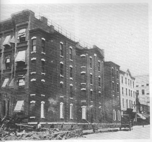 http://en.wikipedia.org/wiki/Image:Spite_house_NY_1895.jpg