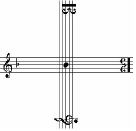http://commons.wikimedia.org/wiki/File:J_S_Bachov_Kriz_B-A-C-H.JPG