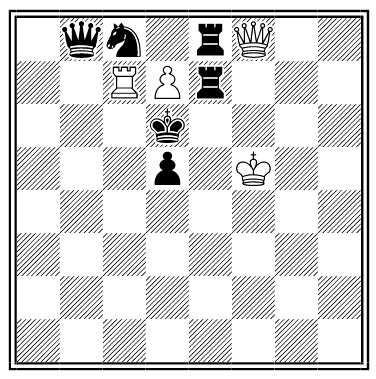 nabokov chess problem solution