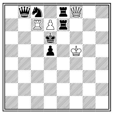 nabokov chess problem solution