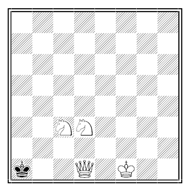 steadfast chess problem solution