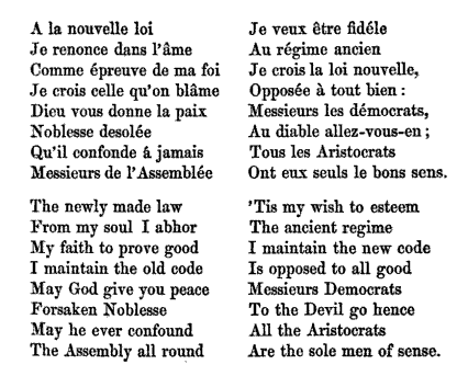 french revolution poems Author of three novels and one long poem that deal directly with the french revolution british women writers and the french revolution and and in the the.