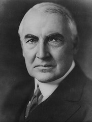 http://commons.wikimedia.org/wiki/File:Warren_G_Harding_portrait_as_senator_June_1920.jpg