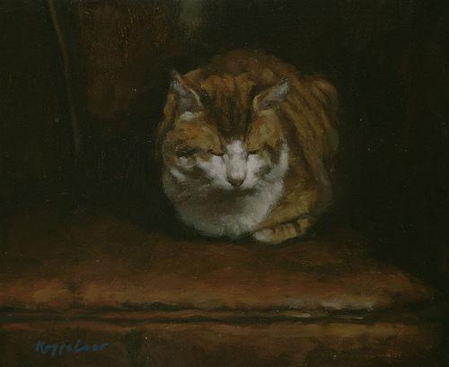 http://commons.wikimedia.org/wiki/File:Frans_Koppelaar_-_Tom_Cat.jpg
