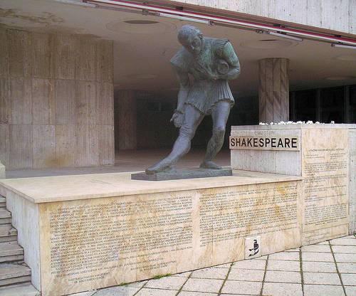 http://commons.wikimedia.org/wiki/File:Shakespeare_Budapest.jpg