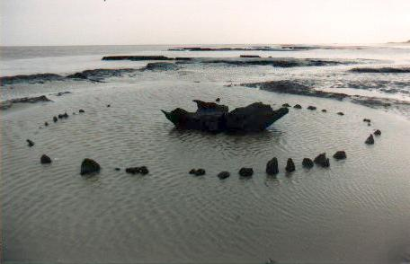 http://commons.wikimedia.org/wiki/File:Seahenge.jpg