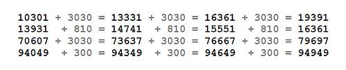palindromic primes in arithmetic progression 2
