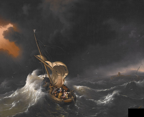 http://commons.wikimedia.org/wiki/File:Backhuysen,_Ludolf_-_Christ_in_the_Storm_on_the_Sea_of_Galilee_-_1695.jpg