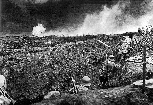 http://commons.wikimedia.org/wiki/File:German_stormtroops_training_Sedan_May_1917_3.jpg